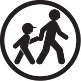 Tout enfant de moins de 14 ans doit être obligatoirement accompagné d'une personne majeure