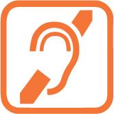 Handicap auditif : sous réserve avec accompagnateur
