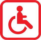Handicap moteur : non adapté