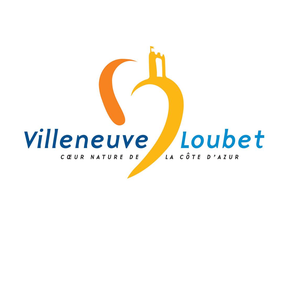 Logo Office de tourisme de Villeneuve-Loubet