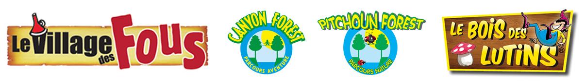 logos parcs alpes azur aventures